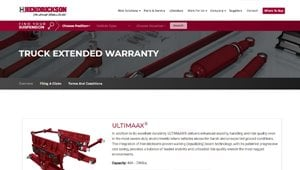 Extended Warranty Page