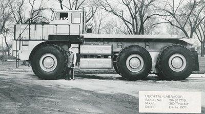 Camión Big Boy de Hendrickson 1971
