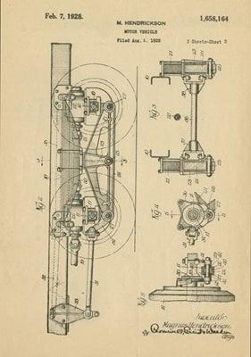 1926 Walking Beam Patent