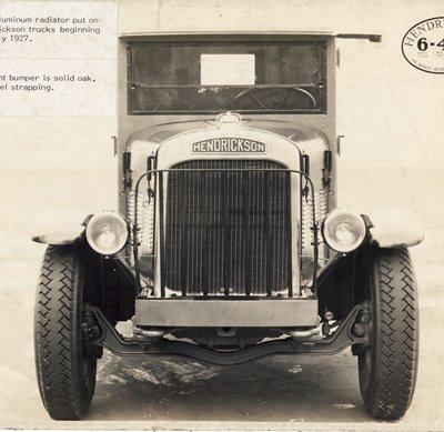 1917 Hendrickson Truck