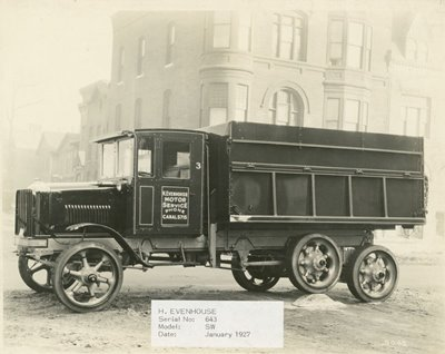 Viga Igualadora 1927