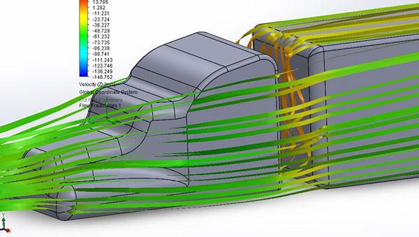 aerodynamics study